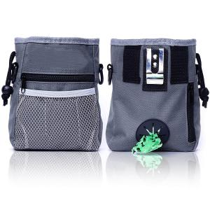 New Pet Dog Training Pouch Treat Bags Dog Puppy Pouch Walking Food Treat Snack Bag Agility Bait Training Bags Waist Storage